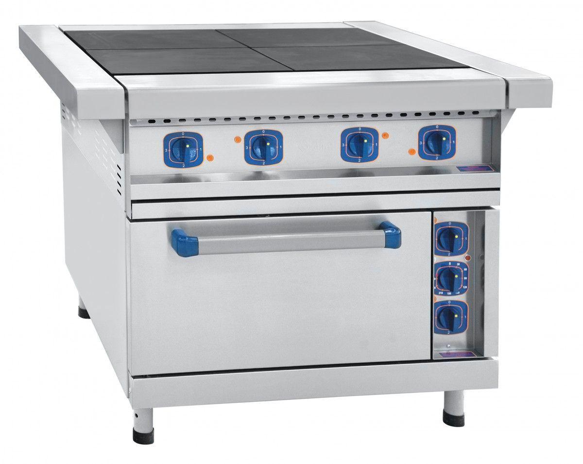 Плита электрическая Abat ЭП-4ЖШ-Э (эмалированная духовка) фото, купить в Липецке | Uliss Trade