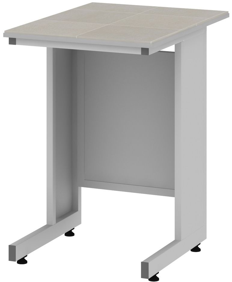 Стол пристенный высокий 600 СПКп в «Керамическая плитка» фото, купить в Липецке   Uliss Trade