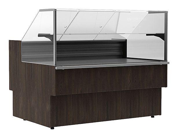 Витрина морозильная Carboma GC110 SL 1,5-1 (ВХСн-1,5 GC110) (статика) фото, купить в Липецке   Uliss Trade