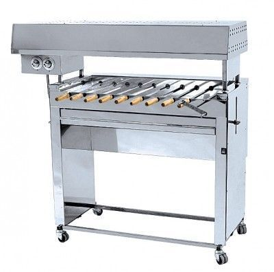 Шашлычница газовая ГрильМастер Ф2ШГ(10 шампуров)