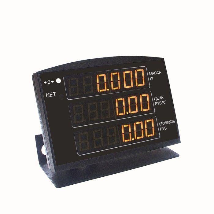 МК-Т21 торговые весы с выносным индикатором фото, купить в Липецке | Uliss Trade