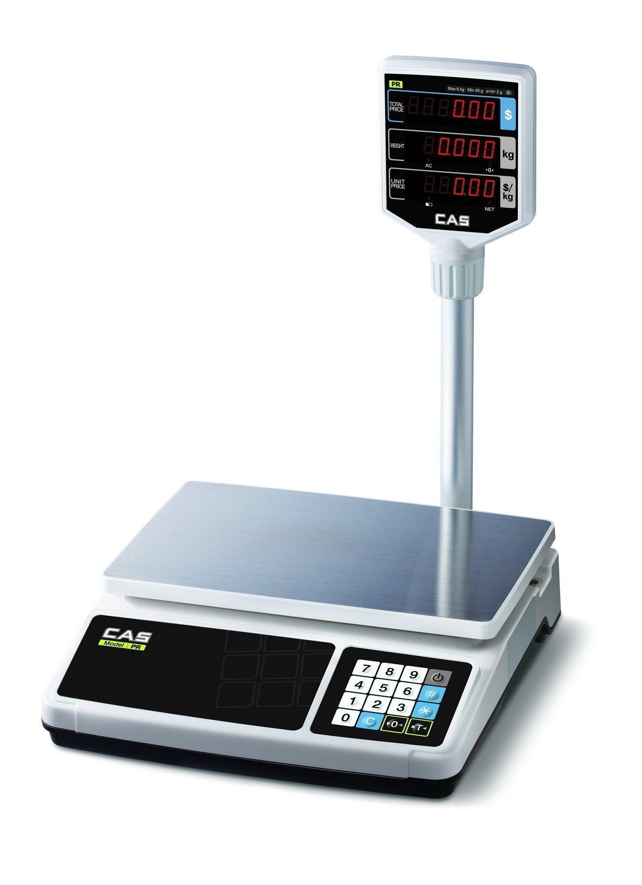 Торговые весы CAS PR-P фото, купить в Липецке | Uliss Trade