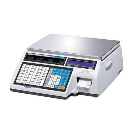 Торговые весы с печатью этикеток Cas CL5000B фото, купить в Липецке | Uliss Trade