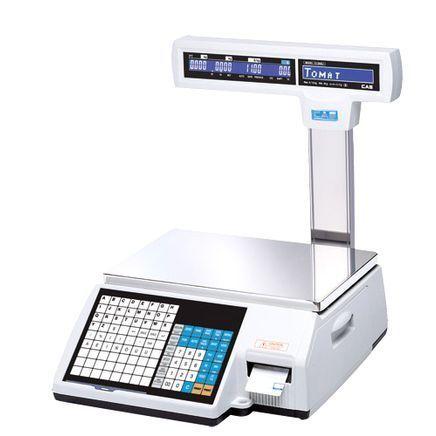 Торговые весы с печатью этикеток Cas CL5000J-IS фото, купить в Липецке   Uliss Trade