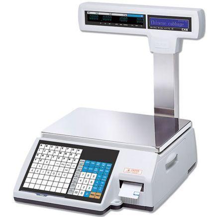 Торговые весы с печатью этикеток Cas CL5000P фото, купить в Липецке | Uliss Trade