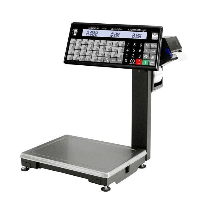 ВПМ-Т печатающие торговые весы с отделительной пластиной фото, купить в Липецке | Uliss Trade
