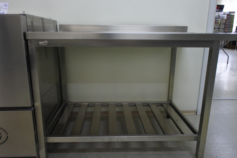 Стол выходной для посудомойки, левый 700х750х870 фото, купить в Липецке   Uliss Trade
