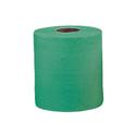 Бумажные полотенца в рулонах 1-слойные зеленые (2 рулона х 400 м.) фото, купить в Липецке   Uliss Trade