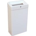 Корзина для мусора с конусным отверстием из эмалированной стали MERIDA STELLA WHITE, 27 л фото, купить в Липецке | Uliss Trade