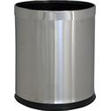 Корзина металлическая OPTIMUM, для бумаги, матовая (10 л) фото, купить в Липецке | Uliss Trade