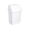 Корзина пластиковая с поворотной крышкой 15 л фото, купить в Липецке | Uliss Trade