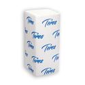 Листовые полотенца 2-сл белые 200 листов, V-сложения фото, купить в Липецке   Uliss Trade