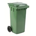 Бак (контейнер) на колесах для мусора 120 литров 480x555x974 мм фото, купить в Липецке | Uliss Trade
