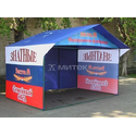 Реклама на палатках фото, купить в Липецке | Uliss Trade