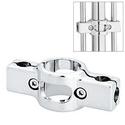 Крепеж решетка-труба-решетка 25х10 мм, двусторонний / J 54 фото, купить в Липецке   Uliss Trade