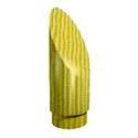 Заглушка декоративная скошенный цилиндр SL 04d дерево фото, купить в Липецке | Uliss Trade