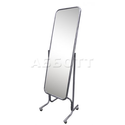 Зеркало примерочное напольное с изменением угла наклона на колесах двустороннее 5MD-05K фото, купить в Липецке | Uliss Trade