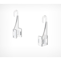 Крючок для подвешивания рамок на подвесной системе F-CLIP фото, купить в Липецке | Uliss Trade