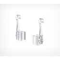 Крючок с подвижным основанием для подвешивания пластиковых рамок F-CLIP-SW фото, купить в Липецке | Uliss Trade