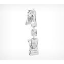Универсальный ценникодержатель с прищепками, малый FXS-DBL фото, купить в Липецке | Uliss Trade