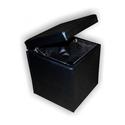 Банкетка куб (черный) с откидной крышкой BN-011 фото, купить в Липецке | Uliss Trade