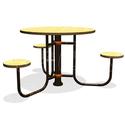 Столик для детской площадки тип ромашка фото, купить в Липецке | Uliss Trade