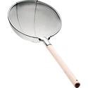 Сито 350 мм (крупная сетка 6 мм) с деревянной ручкой фото, купить в Липецке   Uliss Trade