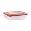 Контейнер для продуктов прямоуг. 0,45 л 16*10,5*4,5см п/п бордовый фото, купить в Липецке   Uliss Trade