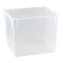 Контейнер для продуктов прямоуг. 34 л 40*33,5*31,5см п/п Кристалл фото, купить в Липецке   Uliss Trade