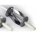 Резак для круассанов 180х200мм, одинарный, нерж.сталь, ручки пластик фото, купить в Липецке | Uliss Trade