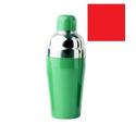 Шейкер 0,48 л. винил.покрытие, красный, нерж. арт. CSD16V red фото, купить в Липецке   Uliss Trade
