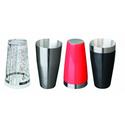 Шейкерный стакан металлический V, мл 700 ( Черный винил) фото, купить в Липецке   Uliss Trade
