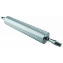 Скалка алюминий с вращающейся ручкой d=8,7см l=38см фото, купить в Липецке   Uliss Trade