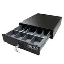 Денежный ящик 1.0/К0 (малый, черный) фото, купить в Липецке | Uliss Trade