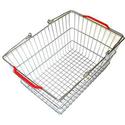 Корзина покупательская металлическая SB20-ZN фото, купить в Липецке | Uliss Trade