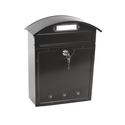 Почтовый ящик металлический LT-02 BLACK фото, купить в Липецке | Uliss Trade