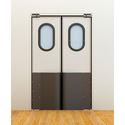 Маятниковые двери коммерческой серии фото, купить в Липецке   Uliss Trade