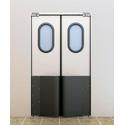 Маятниковые двери офисного типа фото, купить в Липецке   Uliss Trade