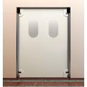 Маятниковые двери пластиковые фото, купить в Липецке   Uliss Trade