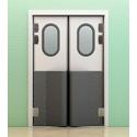 Маятниковые двери с фиксацией фото, купить в Липецке   Uliss Trade
