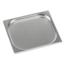 Гастроемкость Luxstahl из нержавеющей стали GN 1/2 327х265х20 мм фото, купить в Липецке | Uliss Trade