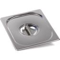 Крышка Luxstahl из нержавеющей стали для GN 1/2 фото, купить в Липецке | Uliss Trade