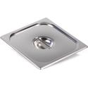 Крышка Luxstahl из нержавеющей стали для GN 2/3 фото, купить в Липецке | Uliss Trade
