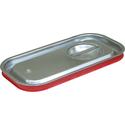 Крышка Luxstahl из нержавеющей стали с уплотнителем для GN 1/3 фото, купить в Липецке | Uliss Trade
