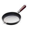 Сковорода чугунная 200/50 с деревянной ручкой Luxstahl фото, купить в Липецке | Uliss Trade