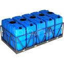 Пластиковая ёмкость в обрешётке 10000 литров фото, купить в Липецке   Uliss Trade