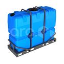 Пластиковая ёмкость в обрешётке 2000 л (2200x830x1730 мм) фото, купить в Липецке   Uliss Trade