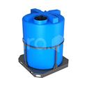 Пластиковая ёмкость в обрешётке 3000 л (1600x1600x2050 мм) фото, купить в Липецке   Uliss Trade