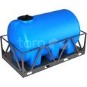 Пластиковая ёмкость в обрешётке 3000 л (2530х1480х1560 мм) фото, купить в Липецке   Uliss Trade