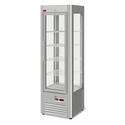 Кондитерский шкаф-витрина Veneto RS-0,4 нержавейка (полки-решетка) фото, купить в Липецке | Uliss Trade